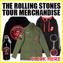 The Rolling Stones tour merchandise